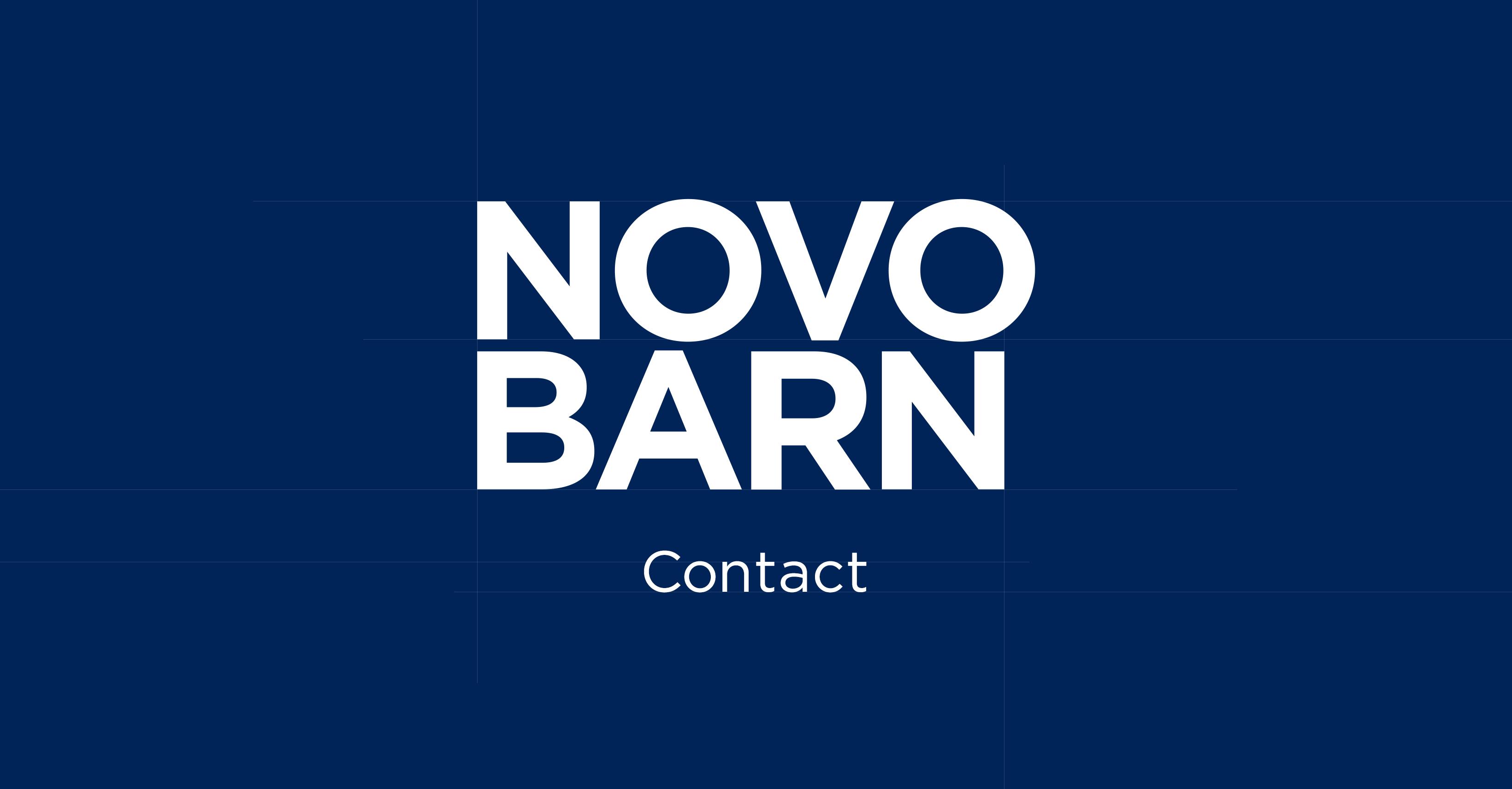 Novobarn contact info